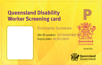 State Worker Screening Card